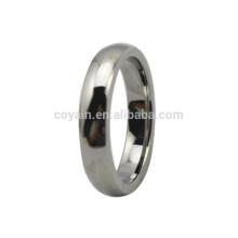 Melhor Preço Prata Metal Simple dedo anelar