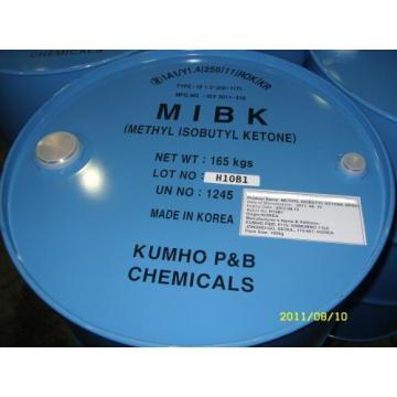 Suministrar directamente 99.5 min de metil isobutil cetona / Mibk