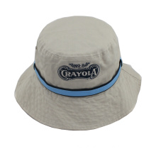 Custom Heavy Washed Cotton Twill Bucket Hat with Band