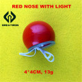 Red Clown Nose with Light