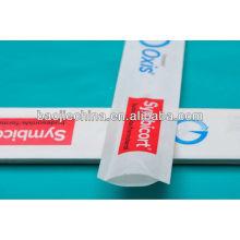 sacs d'emballage en plastique stériles gamma pour tampons de gaze