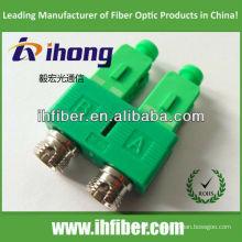FC femelle à SC / adaptateur fibre duplex mâle APC