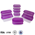 chinese microwavable plastic heat resistant reusable food container