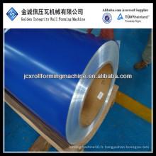 Dx51d dx52d sgcc ppgi bobine d'acier galvanisée recouverte de couleur