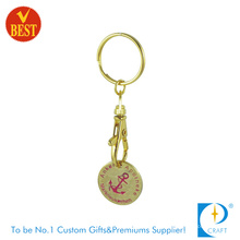 Trolley Coin Keychain / Metal Trolley Coin