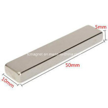 N35 Block Neodymium Permanent Rare Earth Magnet 50X10X5mm