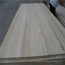 Fsc Paulownia Wood Board for Furniture Door Frame