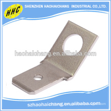 High Precision Nickel Plated Brass C268000 Angle Connector Terminals