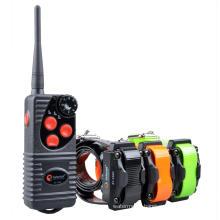 Aetertek AT-216D dog shock collar with 3 receivers