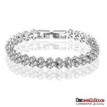 Bracelet de tennis en zircon cubique pour femmes (CBR0002-B)