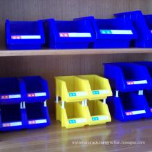 Plastic spare parts storage bin combinative bin