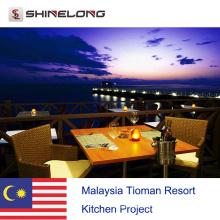 Malaysia Tioman Resort Küchenprojekt von Shinelong