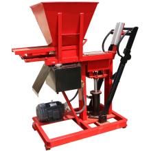Hydraulische hydraform Lehmziegelsteinmaschinerie Südafrika für kleines Geschäft