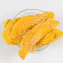 Chips de manga desidratados com sabor doce e saboroso
