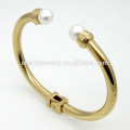 Beautiful Fashion Jewelry Adjustable Bead Stainless Steel Bracelet For Women Bangles GSL040