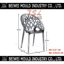 China Custom High Quality Plastic Clear PC Chair Mold