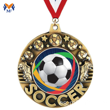 Cheap soccer sports trophy football medals para la venta