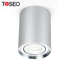 IP20 CE surface mounted led ceiling lights aluminium housing cylinder mount led downlight housing