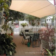 Toldo de la vela de la cortina del patio de la cubierta de la venta del precio bajo