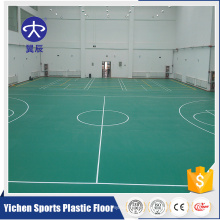 Professional sport floor palstic flooring basketball court pvc floor