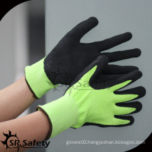 SRSAFETY Top Quality personal cut level 5 protective gloves