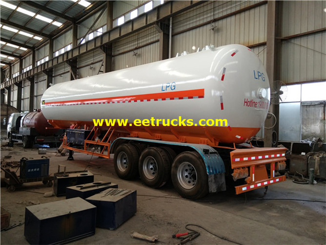59.5m3 LPG Delivery Tank Trailers