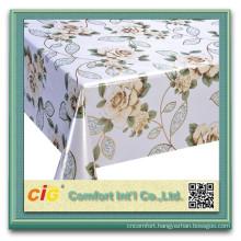 Cheap price printed pvc table cloth