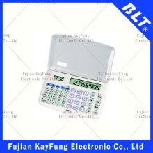 56 Function Filppable Scientific Calculator with Time Display (BT-206)