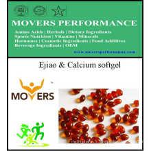 Ejiao & Calcium Softgel / Vegetable Softgel / No Conservant