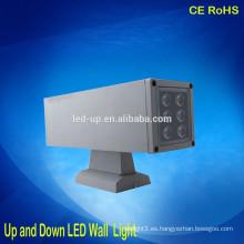 12W arriba / abajo llevó la luz de pared llevó la nueva luz de pared del hotel del diseño con CE RoHS FCC