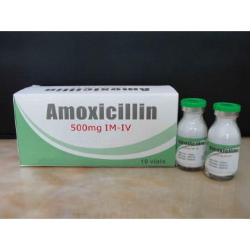 Amoxicillin for Injection BP 500MG