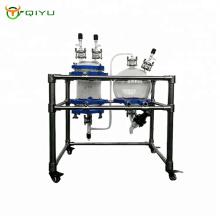 Customized Ultrasonic double layer glass reactor