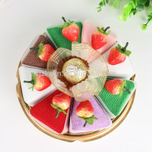 Goods from china microfiber fabric souvenir towels for birthday gift