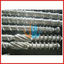 Baril à vis unique bimétallique pour extrudeuse/baril à vis en carbure de tungstène