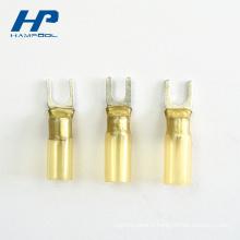 Borne matérielle en nylon de câblage de connecteur de joint de cuivre
