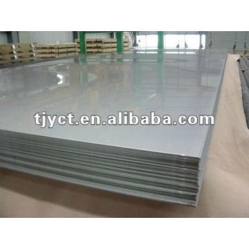 SS 304 h plaque en acier inoxydable