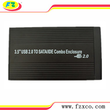 3.5 USB2.0 SATA IDE Combo HDD Enclosure