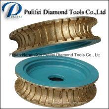 Stone Shape Making Machine Tool Diamond Sintered Profile Wheels