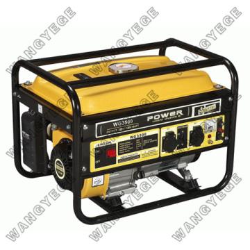 Gerador de gasolina de 4 tempos refrigerado ar monofásico
