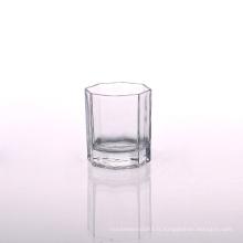 Petit gobelet en verre de coupe en gros