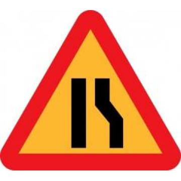Señal de tráfico reflectante / signo de carretera reflectante