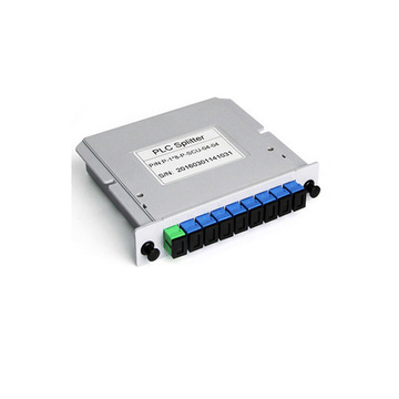 1x8 LGX Tipo Gpon Optical Fiber Splitter PLC