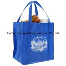 Extra große wiederverwendbare Lebensmitteltasche mit verstärkten Griffen