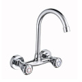 New design cheap price chrome basin mixer faucet