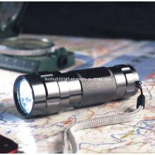 14 lanterna de alumínio do diodo emissor de luz (tocha) (12-1H0009)