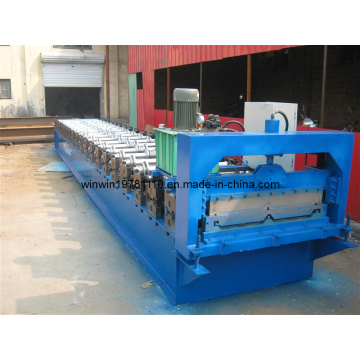 Hochgeschwindigkeits-Farbstahlfliesenformmaschine