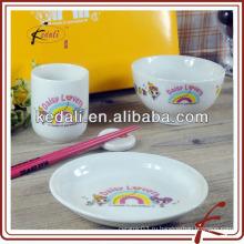Современная посуда для дизайна для детей