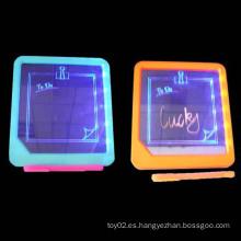 Tablero de escritura LED intermitente Tablero de escritura con pluma de escritura Nite (10134378)