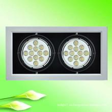Shenzhen fabricación ultra brillante ce rohs ce aprobado 14w 18w 20w led luces estroboscópicas parrilla