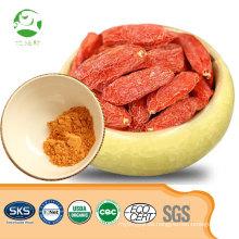 Venta caliente orgánico natural de extracto de bayas de goji en polvo